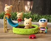 Piggy's Pool - PDF Crochet - Amigurumi Pattern - Instant Download
