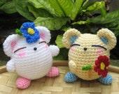 Flowers For You - Crochet Pattern - PDF