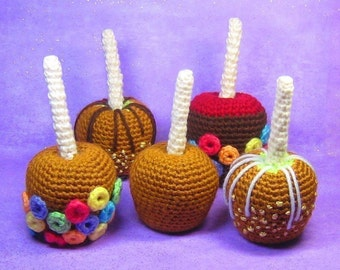 Taffy Apples - Crochet - PDF - Amigurumi Pattern