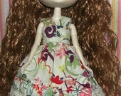 Bring It My Way Handmade SunDress With Matching Headband And Bow  For Dal Doll