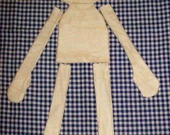 Stained Blank Doll Body
