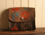 Linea Belt Bag - Leather in Red, Orange, Silver, Turquoise and Antique Black