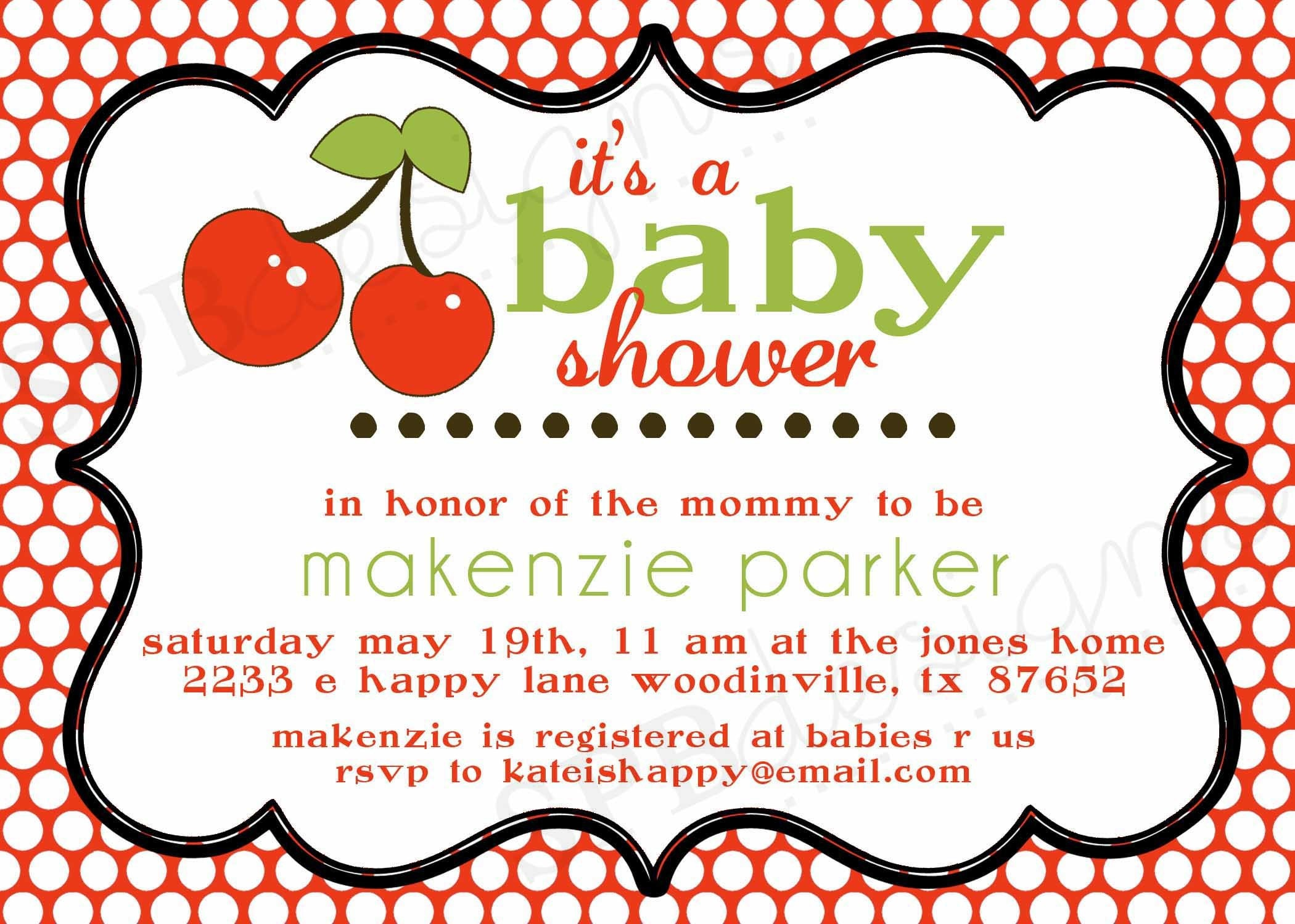 Baby Shower Invitation Wording 2100 x 1500