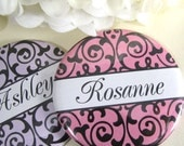 9 Pocket Mirror Bridesmaid Gifts - Personalized Wedding Party Accessories - Bridal Party Gifts