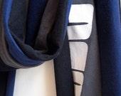 Dark Stripe tScarf - RESERVED FOR ALLONG