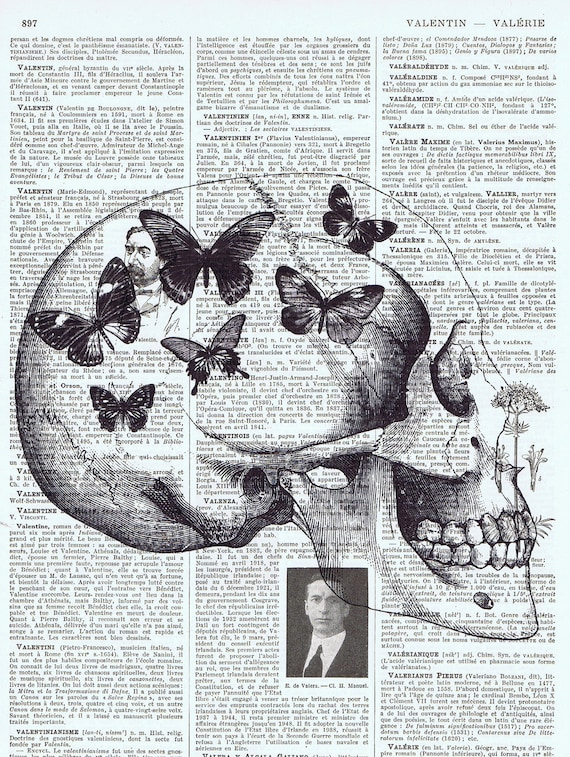 butterflies,  skull, Gift , French, Paris, Vintage.Altered,Steampunk. Antique Book Page, buy 3 get 1 free.retro.home deco.wall hanging