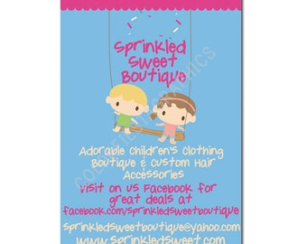 """Custom Postcard/notecard/invitation design 5""""x7"""" - plus a round of UNLIMITED complimentary edits"""