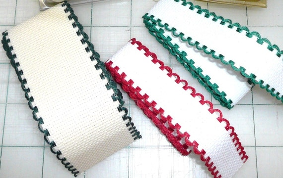 6 Pkgs Ribband Ribbon Trim To Cross Stitch By Leisure Arts