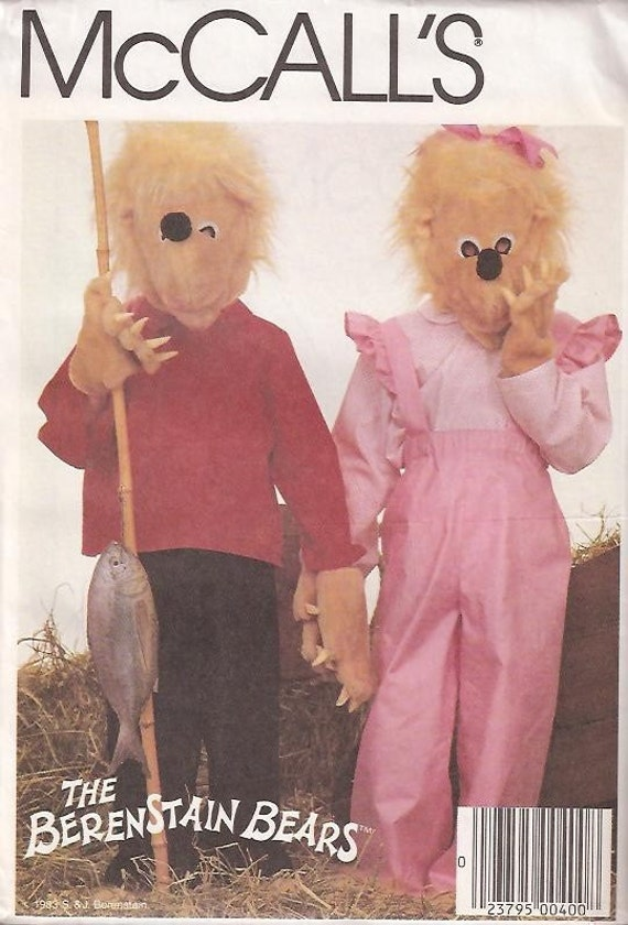 Sister Bear and Brother Bear The Berenstain Bears Costumes