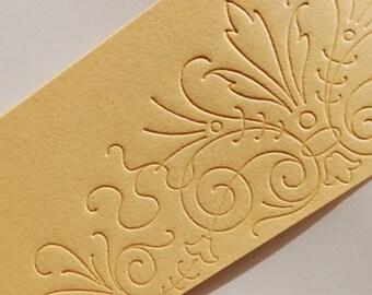 Letterpress Wedding Invitation - LETTERPRESS - Freddie - Set of 100 by Invited Ink