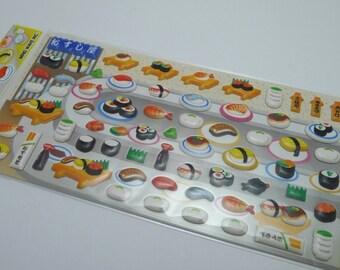 Kawaii Puffy Japanese Sticker - My Sushi Bar (1128) by Mind Wave Inc.