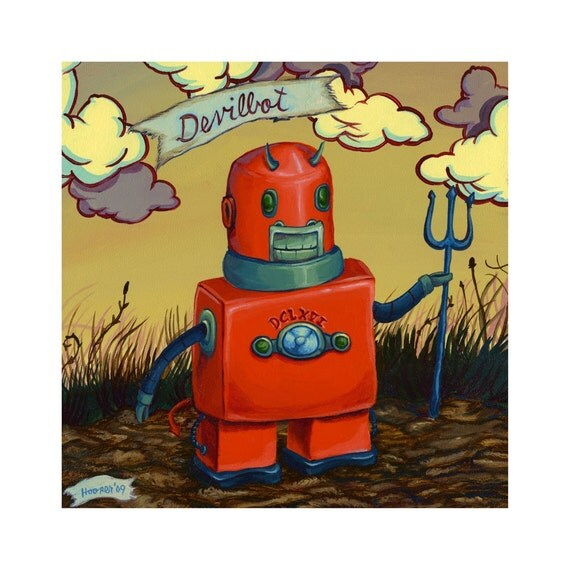 Devilbot Robot - Reproduction