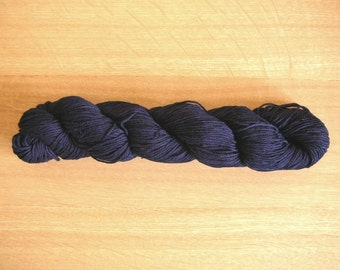 Indigo dyed Sashiko thread  Dark Blue color 100 meters (110yards) skein
