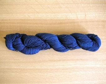 Indigo dyed Sashiko thread Blue color 100 meters (110yards) skein