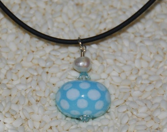 Limited Edition LAMPWORK PENDANT, by Hollen Beads