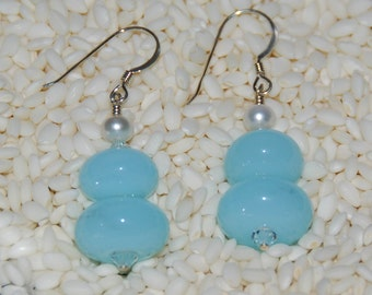 Limited Edition LAMPWORK EARRINGS, by Hollen Beads