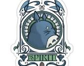 Individual Die Cut Forest Spirit sticker (Item 01-015)