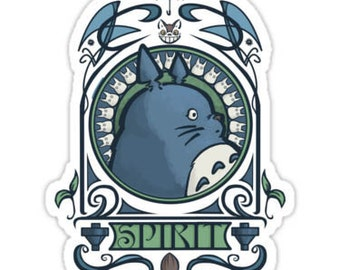 Individual Die Cut Forest Spirit sticker (Item 01-015)