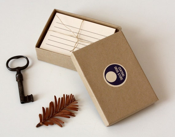 Boxed Letterpress Card Set