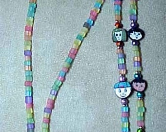 Children Around the Workd Rainbow Eyeglass Chain