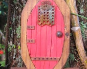 Fairy Door Red Miniature
