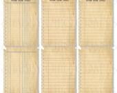 Notebook ATC-set of 6