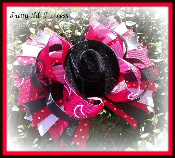 Rodeo Princess Boutique Hairbow Bowchicks