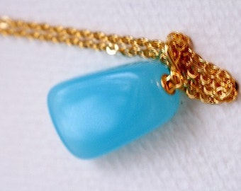 Chalcedony Necklace - sale