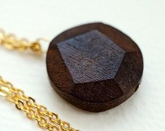 Wooden Gem Necklace II