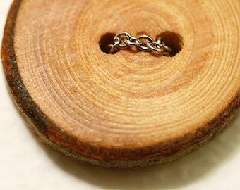 Little Log Necklace