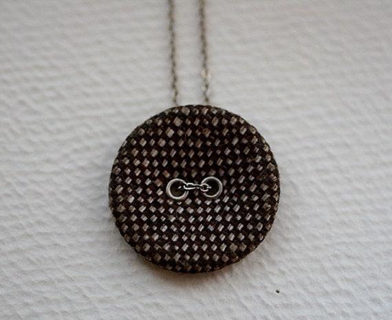 Autumn Tweed Necklace