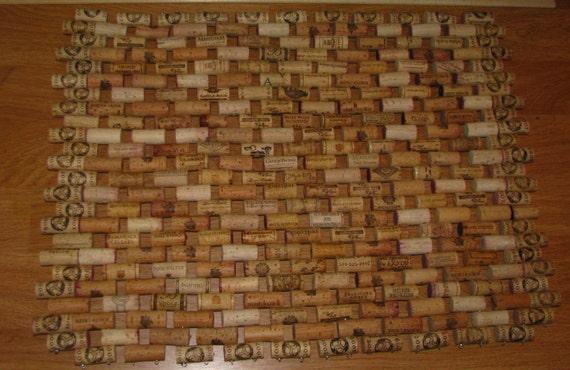 Wine Cork Doormat