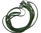 Green Cords with Clasp 5 Pack