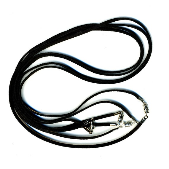Black Cords with Clasp 4 Pack