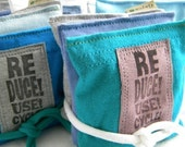 Reduce Reuse Recycle On Dryer Pillow Sheets SET of THREE