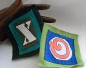 Custom Mother Love Hugs and Kisses X O 's PATCHes TWO Pieces and Parts PATCH