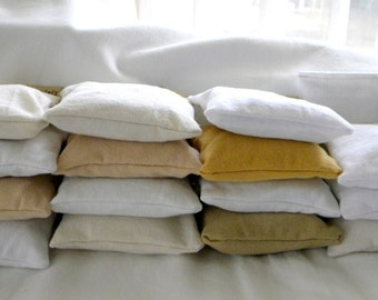 Dryer Pillow Sheets SET of THREE 100% upcycled from tShirt materials Organic Lavender