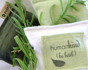 Natural Sachets for Dryer Clothes Drawers Closets Camping Pillow Sheets Upcycled from tShirt Material SET of THREE