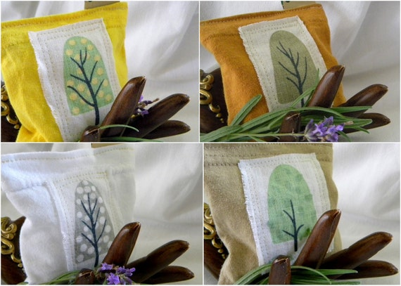 ONE Eco Friendly Organic Lavender Sachet Sheet Full Size Trial for Dryer, Closets, Drawers, Camping and more