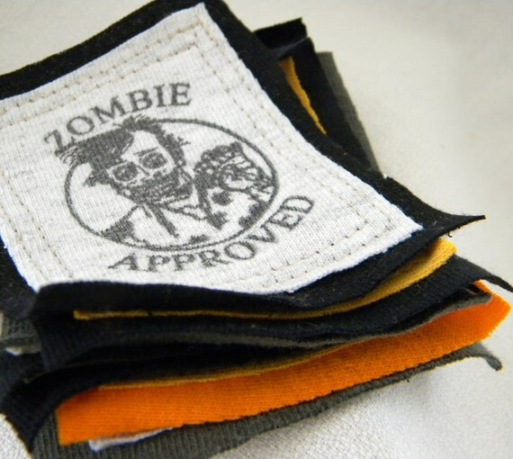 Zombie Approved PATCHes FIVE Pieces and Parts PATCH