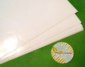 200 Stickers - 10 Sheets of 2 Inch Round Label Stickers - 20 per Sheet, Print at Home or Use for Crafting