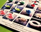 50 Mini Catalog Contact Sheets - 3.5 by 4 Inch Product Display Cards - Full Color, Laser Printed