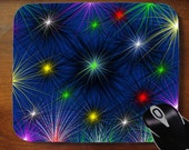 Christmas Holiday Lights Mouse pad  for office or home