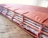 Beautiful Handmade Paper - Journal /  Photo Album / Sketchbook Paperback Great Texture