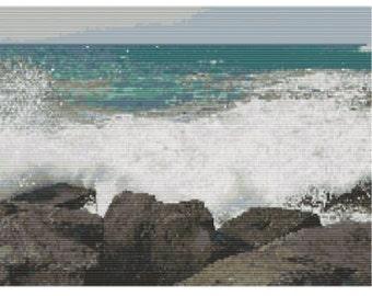 Atlantic Coast, bead pattern for loom or peyote
