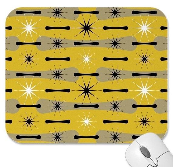 Atomica - Retro-Modern Mousepad
