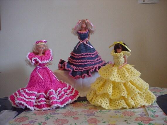 Delsi Dolls Toilet Tissue Cover Dolls