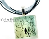 Sight of Blue Sky - ECO-friendly Glass Photo Necklace
