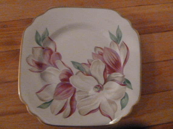 One Salad Plate in Magnolia Pattern