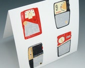 Radios (card and envelope set of 5)